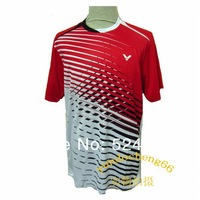Recreational Sports South Korea VICTOR Leisure Mens Badminton / Tennis Polo Shirts free shipping!