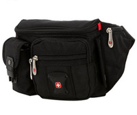 Swissgear Waist Pack Belt Bag Pouch Travel Hip Purse black