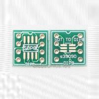 5 Pcs SOP8 SO8 SOIC8 SOT to DIP8 adapter PCB convertor