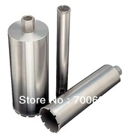 168mm diamond core drill bit for concrete wall, length 450mm, connect: 1-1/4