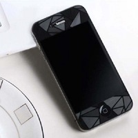 Free shipping Clear 3d Diamond LCD Screen Protector Film Cover For Apple iPhone 4 4g 4s