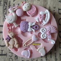 Silica gel of sugar mould handmade soap soap cake sugar chocolate
