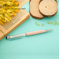 Color Luxurious Crystal Ballpoint Pen Luxurious Jewelry Crystal Pen Cystal Elements Ballpoint Pen - Capacitor Portcrayon