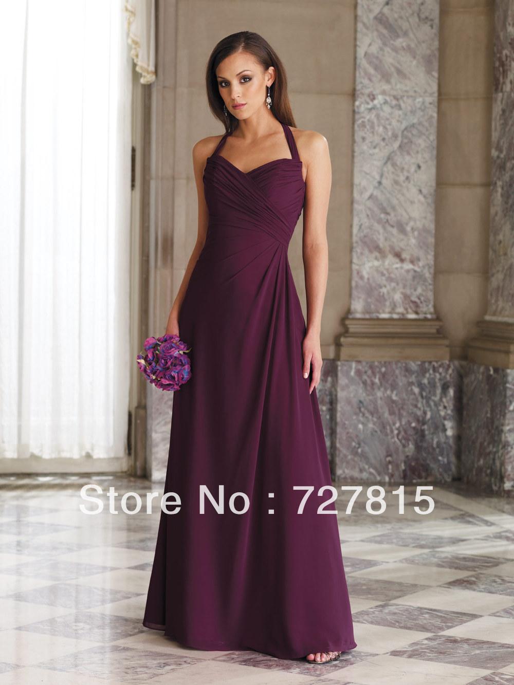 Popular Eggplant Bridesmaid Dresses Buy Cheap Eggplant Bridesmaid Dresses Lots From China