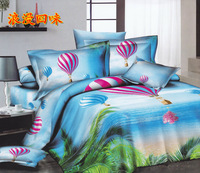 Four cotton twill ocean wind balloons made of pure cotton bedding suite-45