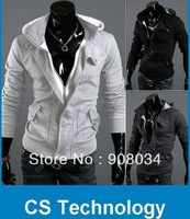 [S723] New coats men outwear Mens Special Hoodie Jacket sweatshirt Coat men clothes cardigan style jacket