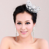 Z00004 crystal soft hair accessory handmade bride wedding stubbiness married hair accessory