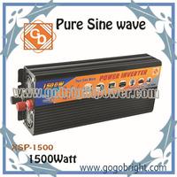 Carriage free 1500w 12v ac power saver inverter