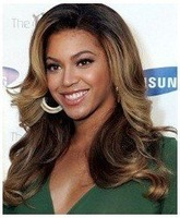 NEW  Super Beautiful Charming Custom Full Front Lace Wig Free shipping