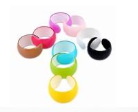 Minimum Order $20 (mixed order)   Candy color fashion bangle hand ring female bracelet