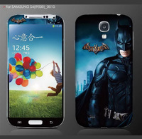 Diy superman super hero for man decoration sticker for samsung galaxy s4 s 4 i9500 cell mobile phone one piece