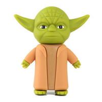 New arrival star war Yoda warrior model usb memory flash stick pen thumb drive 8GB 16GB 32GB