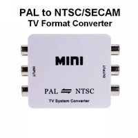 5pcs wholesale PAL to NTSC/SECAM to PAL/NTSC Video MINI Bi-directional TV Format System Converter