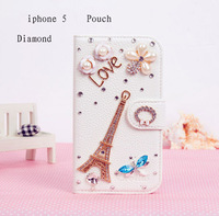 New hot leather cell phone case for iphone5 genuine mobile phone shell protective sleeve holster