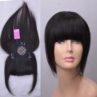 Young girl real hair crochet fringe