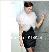 2012 new autumn and winter fur coat ma3 jia3 brief paragraph female waistcoat shawls plush fur vest vest