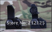 Troy Front and Rear Folding Battle sight M4 Style(TRS-1-BK) -free shipping