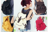 New Unique Vintage Travel Satchel School Bag Canvas Backpack Rucksack Shoulder Free Shipping
