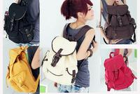 New Unique Vintage Travel Satchel School Bag Canvas Rucksack Shoulder Free Shipping
