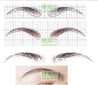 Wigking human hair False /fake eyebrows  wigs ,eyebrows wig -Brow Wig- ib-23 Adhesive free shipping