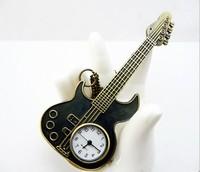 FG-256 Free Shopping Pocket watch wholesale antique fashion High Quality  cartoon  alloy  guitar  pocket watch