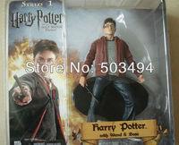 Free Shipping Hot Harry Potter Harry Potter 15cm PVC Figure Red Jacket