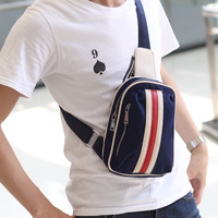 Men's canvas messenger small cross body shoulder bag backpack