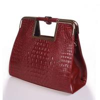 Bags genuine leather women's handbag 2013 crocodile pattern fashion bag evening bag handbag cross-body