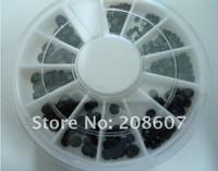 Freeshipping  Nail Art Nail Decoration Glitter Sticker/Decal  Imitation Rhinestone 10Wheel/Lot Wholesale