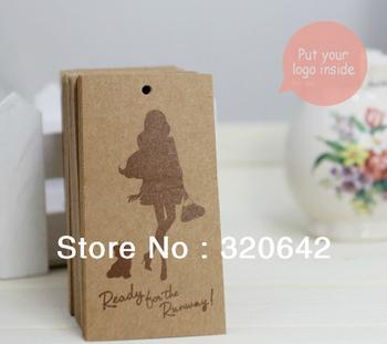 free shipping custom brown clothing printing kraft paper hang tags,fashion high quality hang tag/tags,printed price paper tags