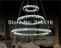 New arrival corridors crystal chandelier led lighting fixture free shipping D700+500+300mm