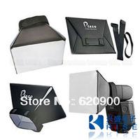 100% GUARANTEE wholesale ! 50  x   NEW! Pixco Universal Portable Flash Diffuser for Canon Nikon Sony DSLR flash Speedlite