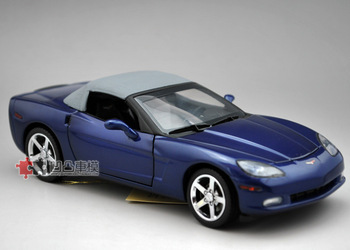 Pardoe 2007 veidt c6 corvette convertible a alloy car model limited edition