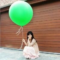 Free Shipping Medium-large 18 36 big balloon blastoff balloon Large circle day gift transparent balloon 25g