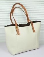 2013 women's fashion handbag genuine leather vintage bag brief trend 2wyas shoulder bag large bag handbag