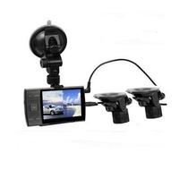 "3.5"" Car DVR Dual Camera S3000A Cycle recording Night Vision Seamless Recording"