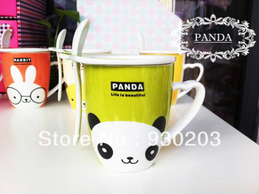 panda tasse cuill re achetez des lots petit prix panda. Black Bedroom Furniture Sets. Home Design Ideas