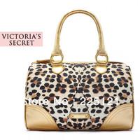 2013 New Fashion Promotion Gold Leopard Satin Print Tote Cheap Women Bags/Handbag Mini Order 1PC Free/Drop shipping