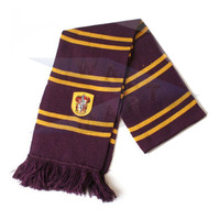 Harry Potter Gryffindor Wool Knit Thicken Neck Scarf Wrap Soft & Warm Costume P17-A
