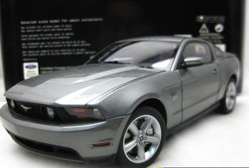 DIE CAST MODEL,1:18 AUTOART,2010 FORD MUSTANG GT,GREY