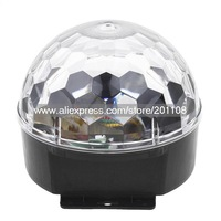 RK026A-EUF  90-240V EU Plug 6 Channel Control Voice-activated Automatic Control Digital LED  Magic Ball