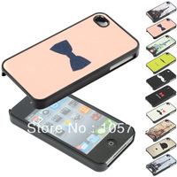 1PCS Vintage Hard Case Cover Skin for iPhone 4 4G 4S CM513