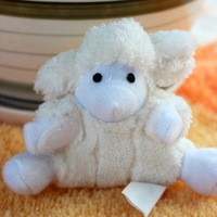Whimzy soft sheep hangings decoration gift plush toy