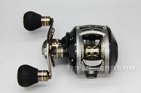 SK HURRICANE 9+1BB 6.3:1 Left Baitcasting Fishing Reel Bait Casting Reels 100-L