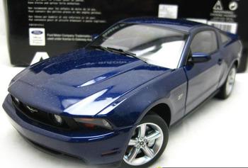 DIE CAST MODEL,1:18 AUTOART,2010 FORD MUSTANG GT,BLUE