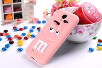 2013 newest Free shipping 2 face rainbow bean fragrance silicon case for Samsung Galaxy s4 i9300 ,housing case cover
