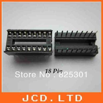 130PCS x 18 pin DIP IC Sockets Adaptor Solder Type Socket/  IC Adapter holder  connector