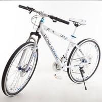Mountain bike aluminum alloy frame double disc 24 variable speed variable speed mountain bike car