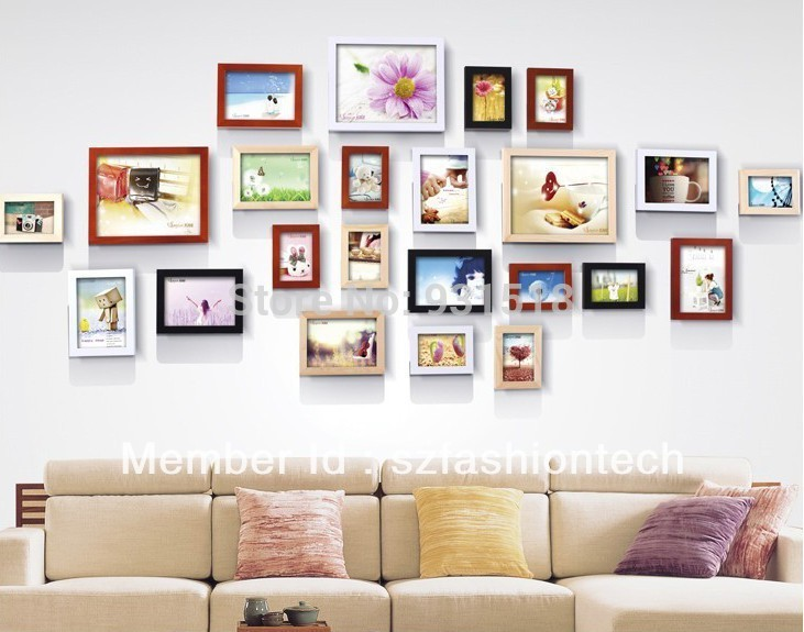 decoration mur cadre photo