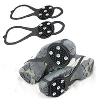 Outdoor 5 crampon simple crampon non-slip snow shoes set slip-resistant crampon 2